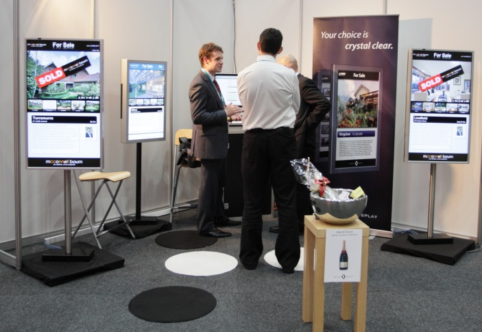 Crystal Display a big hit at AREC2010
