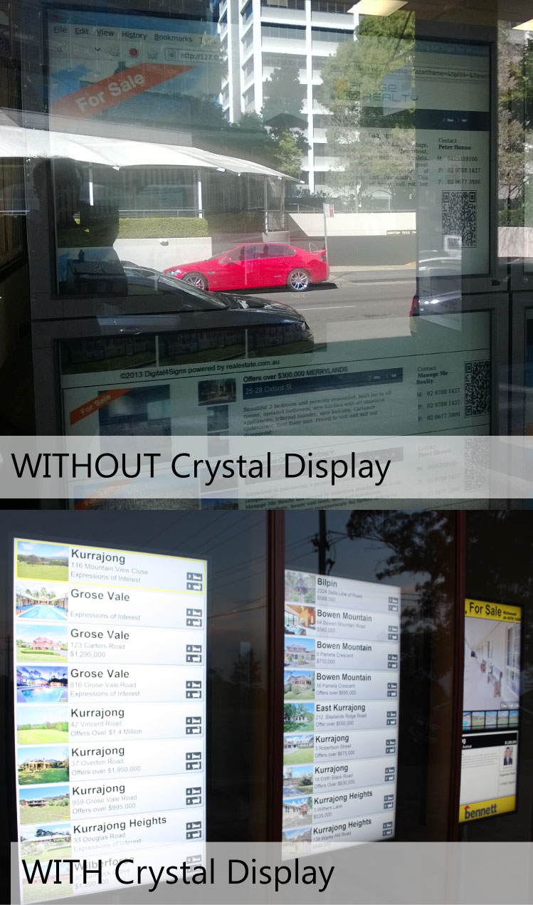 Compare Our Worlds Brightest Real Estate Window Displays